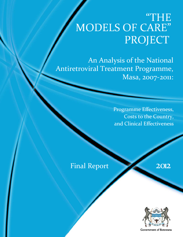Report Model of Care 2012