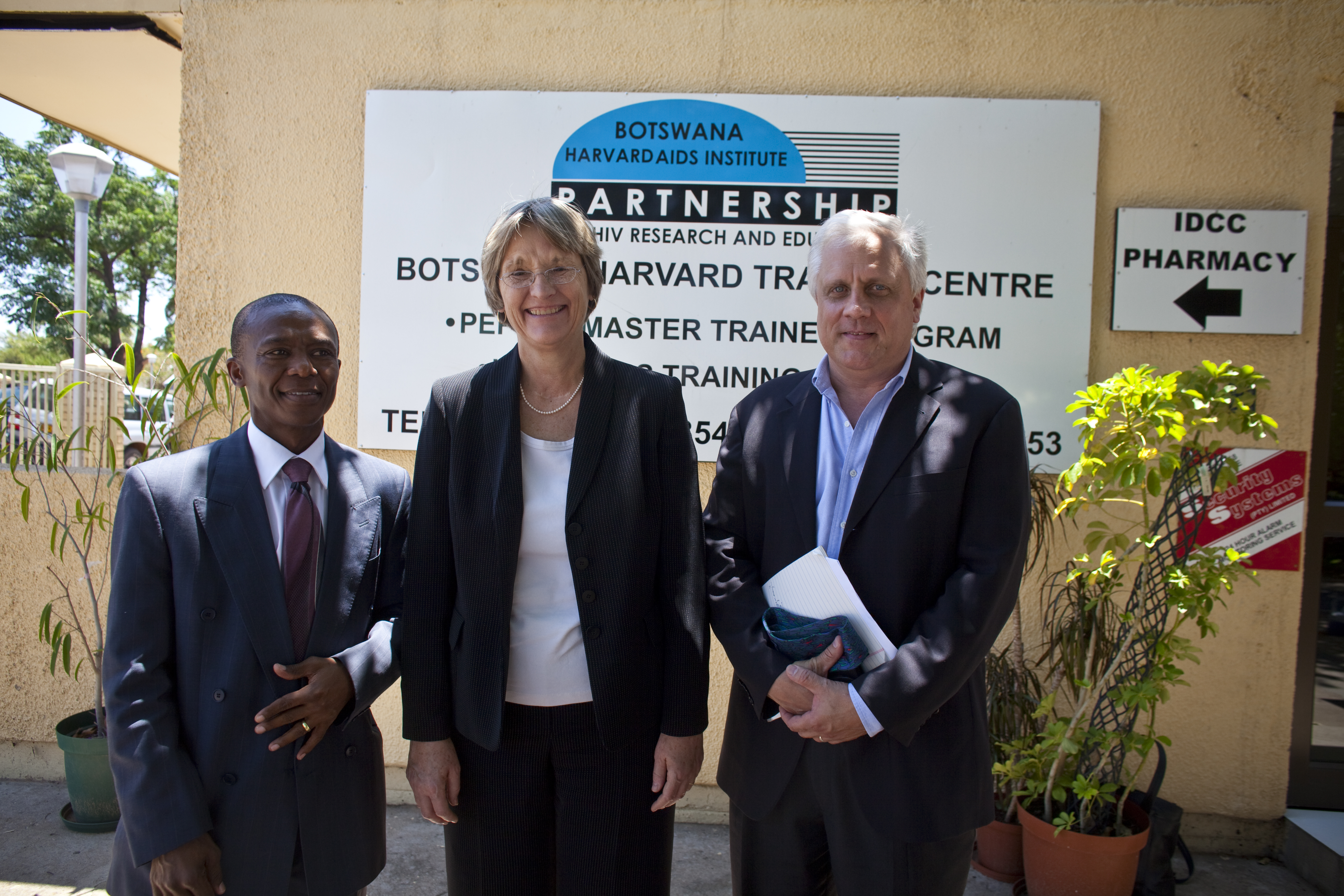 President Faust at BHP