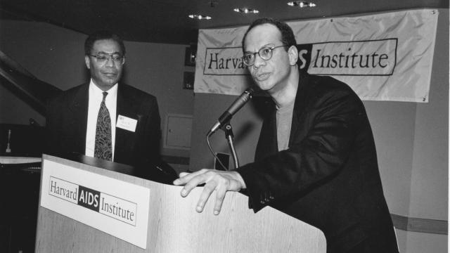 Al Poussaint (L) and Mario Cooper (R), 1996
