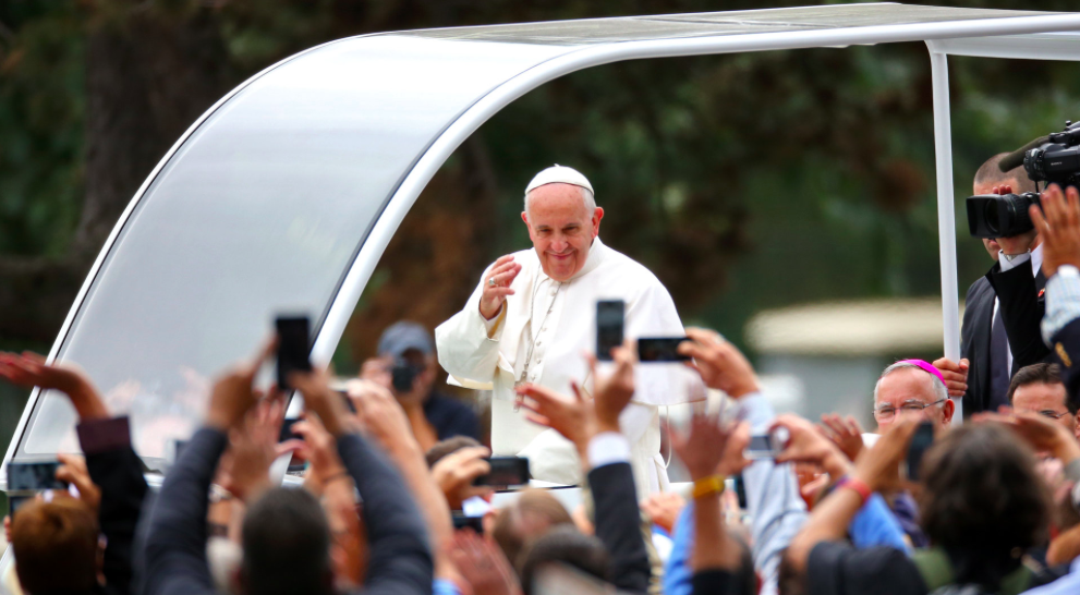 Pope Francis - Credit Damon Winter/The New York Times